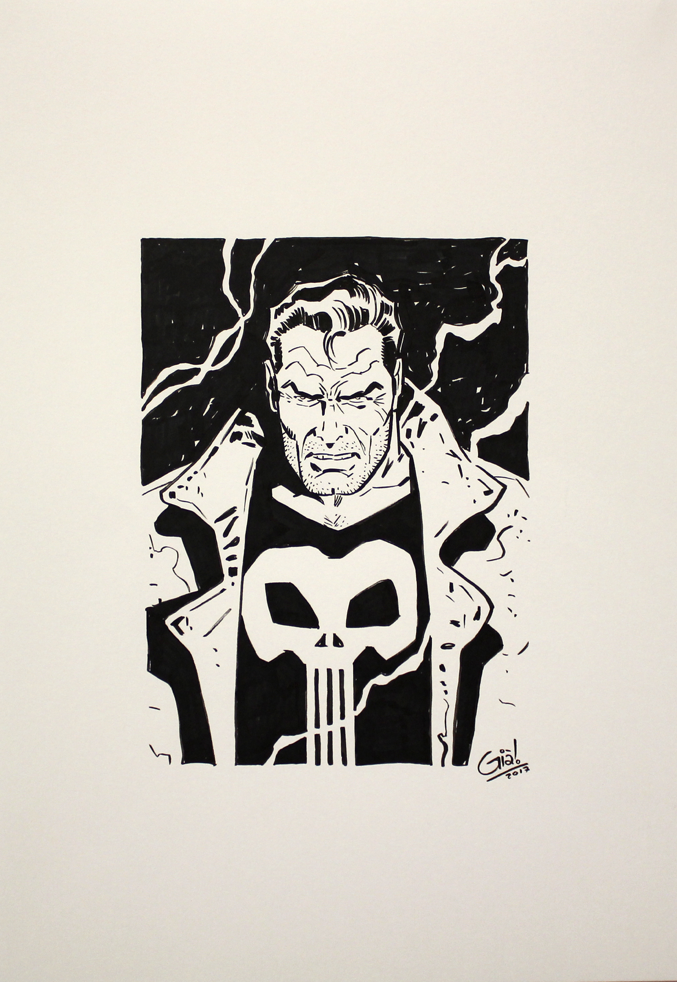 SERGIO GIARDO Punisher